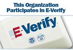 This organization participate in E-Verify
