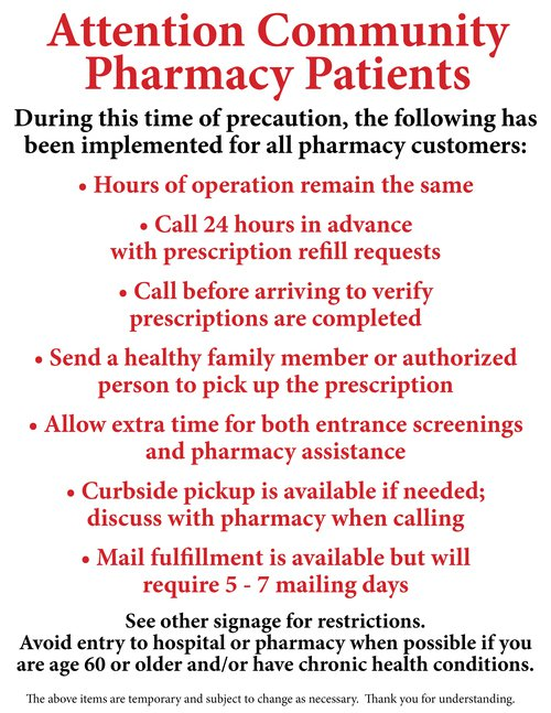 Pharmacy Restrictions