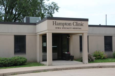 Hampton Clinic Entrance